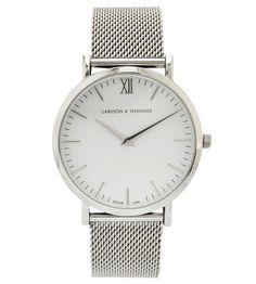 Larsson & Jennings steel watch