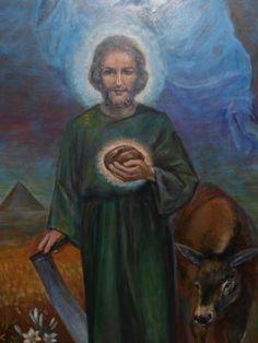 Hl.Josef St Joseph, Sculpture, Kirchen, Painting, Art, Patron Robe, Idea Paint, Saint Joseph, Art Background