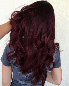 Mooie mahoniebruine kleur in je haar? Probeer WECOLOUR professionele haarverf voor thuis, dan kun je ongeveer rekenen op dit resultaat! 🍒  #WECOLOUR #haarverf #mahoniebruin #5.5