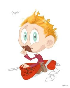 Happy Valentines Day Little Hiddles by Hash