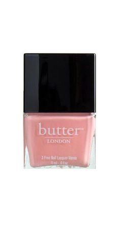 Painting my bathroom my favorite nail polish Butter London Kerfuffle