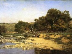 On the Muscatatuck - T. C. Steele