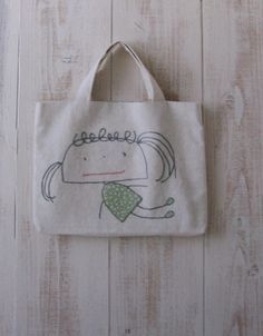 Wouldn't it be cool to put your children's drawings on a bag... I wouldn't know how to do it though.  May be something I will need to research when the time comes.