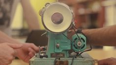 For the 3 Singers project, Ryan Ingebritsen and some of the Northwestern design students talk about what it takes to make a Singer Sewing machine work.
