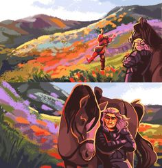 The Witcher, geralt, yennefer, triss photos The Witcher Series, The Witcher Books, The Witcher Geralt, Witcher Art, Gifs, Fanart, High Fantasy, Him Band, Marvel Cinematic Universe