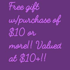 Free gift! Name brand / designer thank you gifts with every purchase of $10 or more when you mention this post! Gas range in value from $7 all the way to $30! Get your ass out supplies last Miss Me Jeans Boot Cut