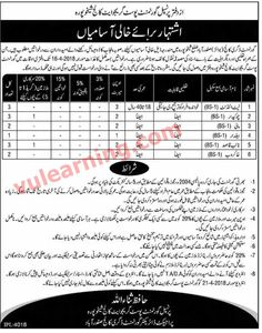 Government Postgraduate College Sheikhupura Jobs 2018 Vacancies Advertisement Latest # Title Details 1 Jobs Location Pakistan 2 Published Date 30 Mar 2018 Friday 3 Last Date to Apply 16 Apr 2018 Monday 4 Newspaper Name Dunya Government Postgraduate College Sheikhupura Jobs 2018 Vacancies Advertiseme...