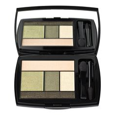 Lancome eye-brightening 5-shadow and liner palette (shades of green) - A favorite that is currently in my makeup bag.