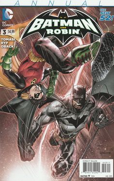 Batman and Robin Annual # 3 DC Comics The New 52! Vol 2