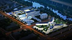 Imx International Trade Masterplan and Exhibition Centre by ATKINS