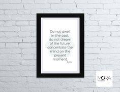 Buddah Quotes Mandala Printable Art instant by MoraPrintableArt