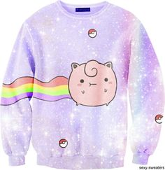 Nyan Puff sweater
