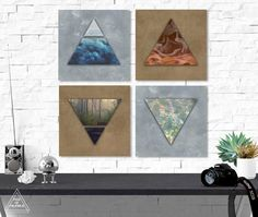 Instant Digital Download, no physical item will be sent. ☽ Alchemy Four Elements Print Set, Digital Download. Alchemy Elemental Symbols on faux metal backgrounds. The backgrounds have a faux silver and copper texture. Prints in the Set: Air Element: The essence of intuition and learning, the nature of the mind. Water Element: The essence of love and fertility, the nature of emotions. Earth Element: The essence of grounding, stability, the nature of balance. Fire Element: The essence of…