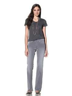 Red Engine Women's Garnet Bootcut Jean (Pewter)  this one look perfect!