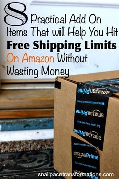 If you are not an Amazon prime member but still hate to spend money on shipping here are a few practical add on items, that your household probably needs  that you can add to your order to get that free shipping without wasting money.