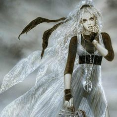 Mount of needles Luis Royo My Fantasy World, Fantasy Art, Character Concept, Character Art, Character Ideas, Wolf, Luis Royo, Thing 1, Fantasy Characters