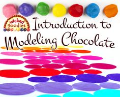 Modeling chocolate making basics with an overview of how it is made, shaped and rolled including a comparison of how it performs using different types of chocolate Modeling Chocolate Recipes, Chocolate Videos, Chocolate Roll, Chocolate Making, Cake Chocolate, Fondant Bow, Marshmallow Fondant, Fondant Cakes, Fondant Flowers