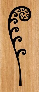 This fabulous New Zealand Koru Fern Frond panel will look great either inside your home or on an outside wall fence. Koru Tattoo, Leaf Tattoos, Thai Tattoo, Maori Tattoos, Tribal Tattoos, Tatoos, Stencil Designs, Wall Art Designs, Sgraffito