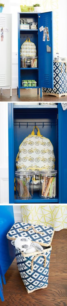 Locker looks for a new year. #ContainYourself #Organization