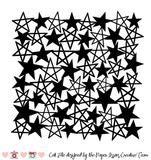 Star Background Free Cut File