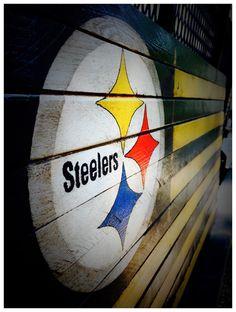 Pittsburgh Steelers Flag, Pittsburgh Steelers Sign, Pittsburgh Steelers Wood Sign, Pittsburgh Steelers Wood Flag, Vintage Pittsburgh Steeler by AmericanFlagShop on Etsy https://www.etsy.com/listing/471302753/pittsburgh-steelers-flag-pittsburgh