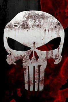 1495 The Punisher Skull Hot Comics Print Art Silk Wall Poster Punisher Skull, Logo Punisher, Punisher Daredevil, Punisher Tattoo, Punisher Symbol, Comic Book Characters, Comic Character, Comic Books Art, Comic Art