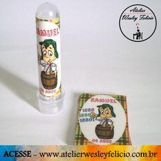 Rotulo Chaves - Atelier Wesley Felício #Artesanato #Crafts #Handmade #Etiqueta #Rotulo #Adesivo #Personalizado #Chaves #Tubete #Festa #Infantil