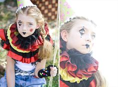 for the clown...makeup ideas