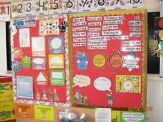 Maths and Gaeilge areas Class Displays, Classroom Displays, Classroom Decor, Primary Teaching, Teaching Resources, Teaching Ideas, Tens And Units, Irish Language, Infant Classroom