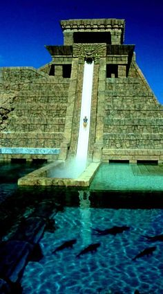 The Atlantis Water slide, Bahamas. The exterior tank is filled with Tiger Sharks! Always wanted to do this! Dream Vacation Spots, Vacation Destinations, Dream Vacations, Places To Travel, Places To See, Atlantis Bahamas, Dubai, Thinking Day, Beautiful Places In The World