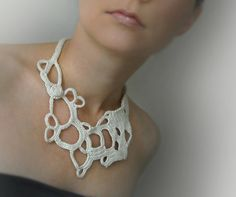 Gorgeous crochet jewelry