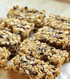 I am a self-professed granola bar fiend Lunch Snacks, Travel Snacks, Granola Barre, How To Make Granola, Portable Food, Homemade Granola Bars, Cereal, Go For It, Healthy Snacks For Kids