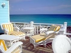 Spectacular Direct Oceanfront Home with Dramatic Ocean Views Vacation Rental in Great Guana Cay from SLEEPS 9