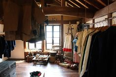 Based out of Gunma, Japan, Sasaki Yohinten is a treasure trove of vintage textiles and objects. It's run by a husband and wife duo who renovated a 100-year old warehouse and turned it into a shop for anything with a history or anything handmade. But one thing the couple have become especially well k