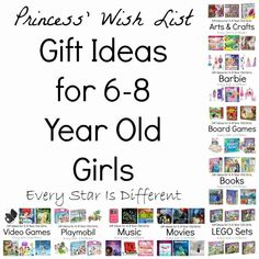 8 Year Old Gift Ideas