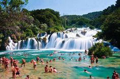 Krka National Park, Croatia...