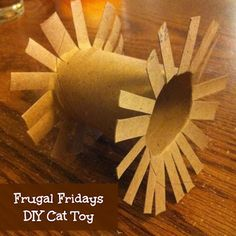 Sunshine Maker Meg: Frugal Fridays - DIY Cat Toy