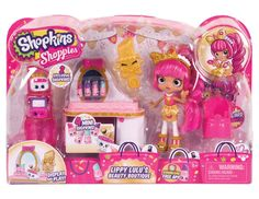 "Shopkins ""Shoppies Lippy Lulu's Beauty"" Boutique Playset: Amazon.co.uk: Toys & Games"