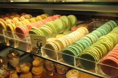 10 Best French Macarons in Los Angeles - Squid Ink. Will endeavor to try them all!