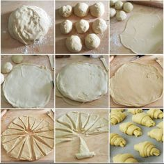 Homemade Croissants, Semi, Mini Desserts, Recipe Today, Crepes, Waffles, Food And Drink, Vegetables, Day Planners