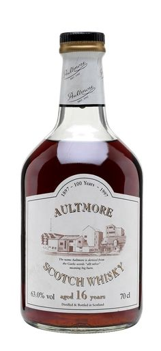 AULTMORE 16 YEAR OLD Centenary, Speyside