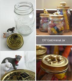 Mimosa Lane: DIY Animal Jars