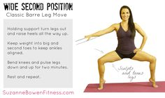 Barre Tips: How to Master Wide Second Position for Great Legs!