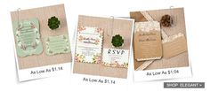 Find wedding invitations with fall themes and leaves in vibrant colors from ElegantWeddingInvites! Matching respond and thank you cards, accommodation cards and more!    Card Type: Flat Card   Invitation Card Dimensio...