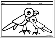flying parrots baby parrots and cute parrots coloring pages