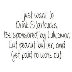 But seriously though...  #lululemon #luluaddict #pblover
