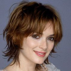 winona ryder haircut - Google Search                                                                                                                                                     More
