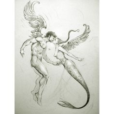 once upon a time a mermaid and an angel fell in love - ferhat edizkan