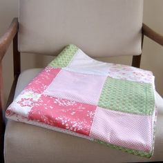 Cat Taylor Design: baby girl - quilt tutorial