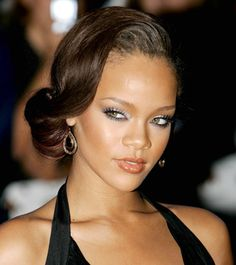 Remember when Rih bust on the scene giving glamour girl?